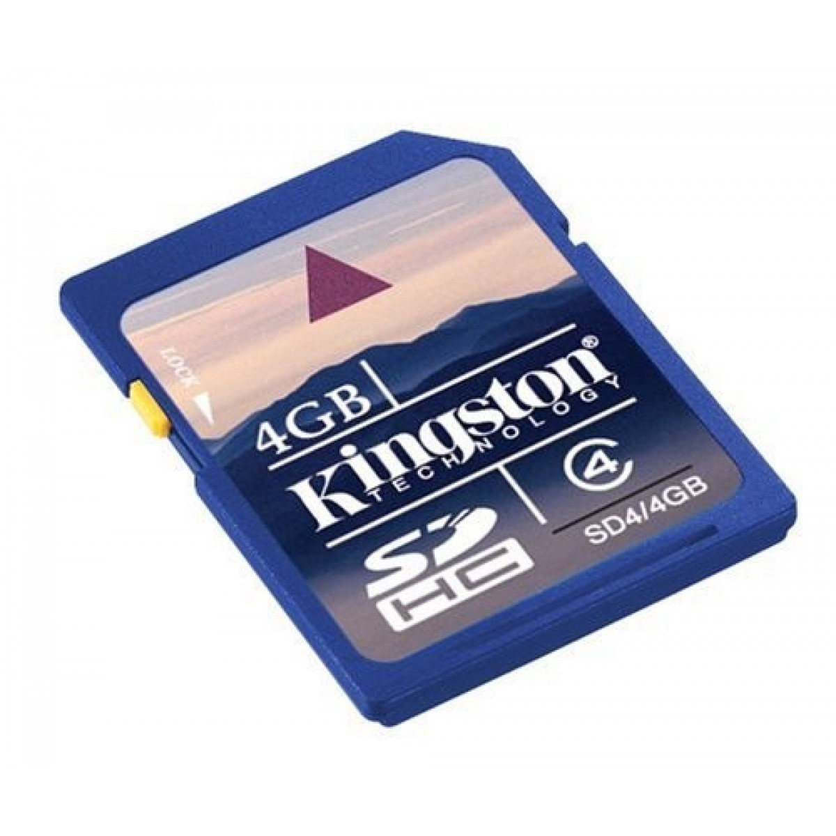 Kingston Secure Digital High Capacity, 4GB Class 4