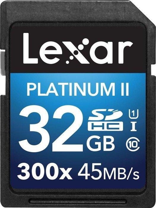 Lexar 32GB SDHC Class 10 UHS-I 45MB/s